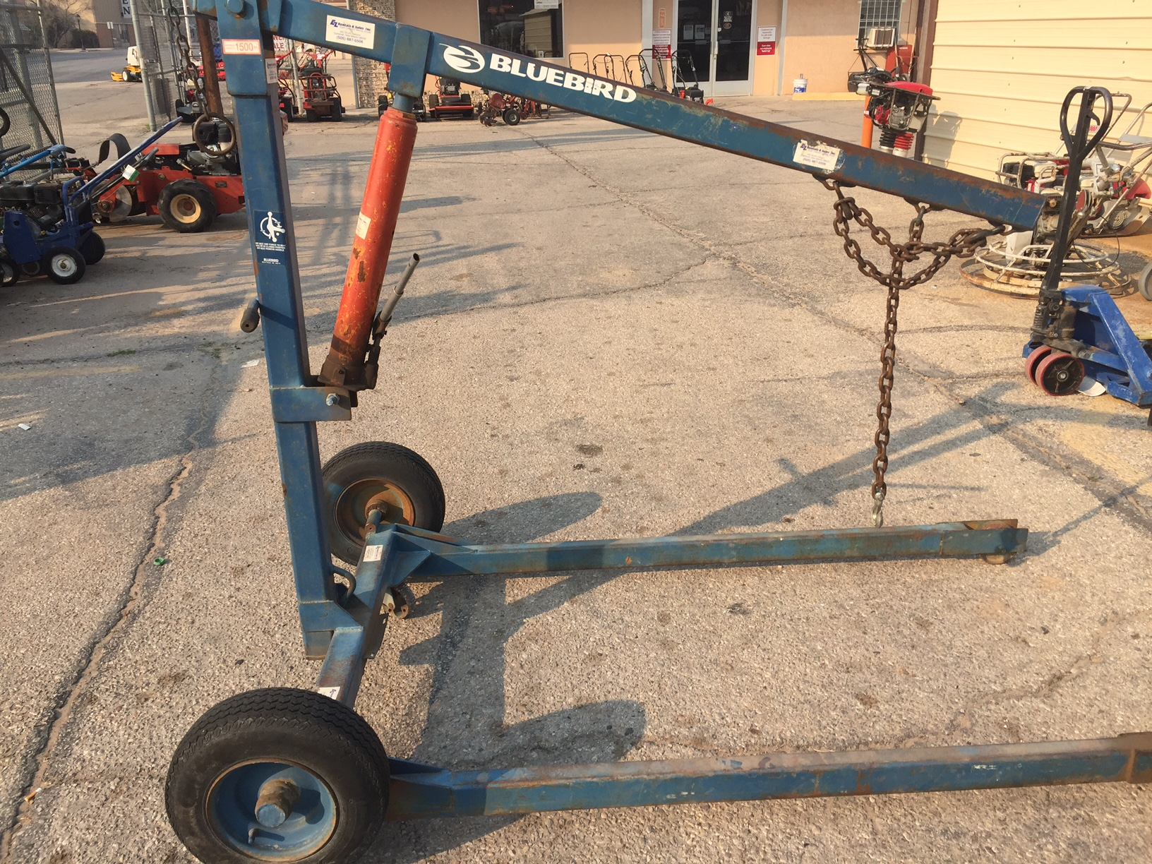 Engine Hoist Towable E Z Rentals Sales Inc