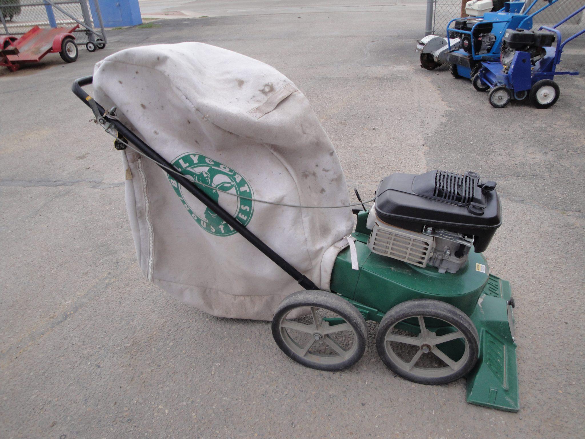 Lawn Vacuum W Bag E Z Rentals Amp Sales Inc